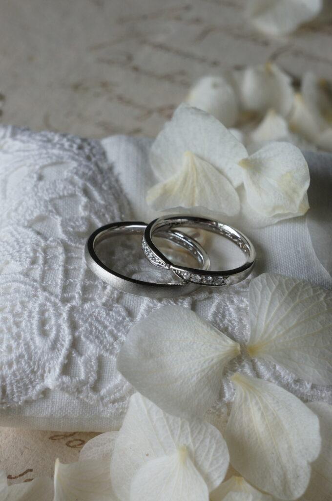 お好みのアレンジも♪ 結婚指輪
