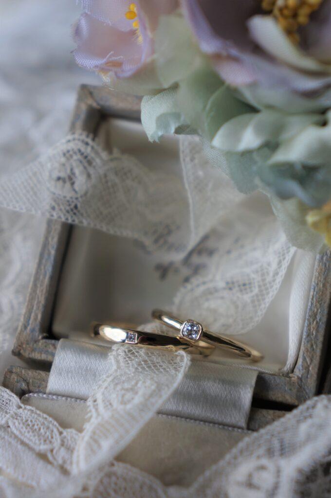 きらめきのしるし 結婚指輪