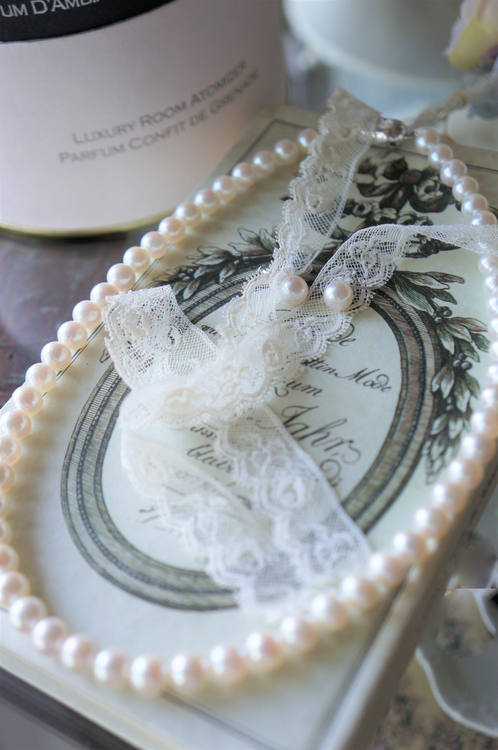お母様からご成人の贈り物 あこや真珠 パール