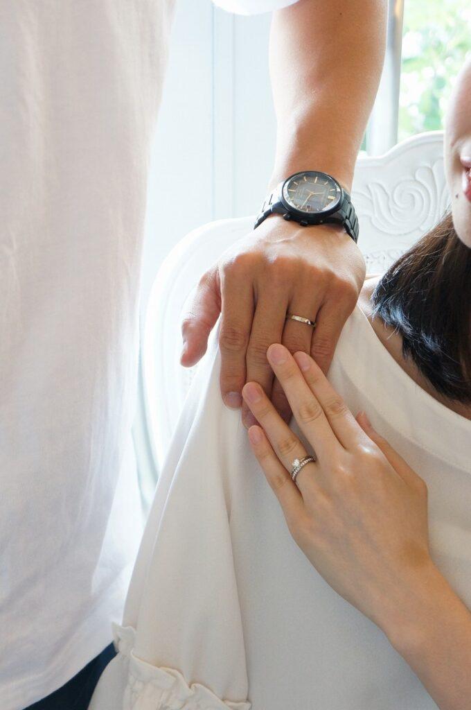 彼女のお気に入りを婚約指輪へ