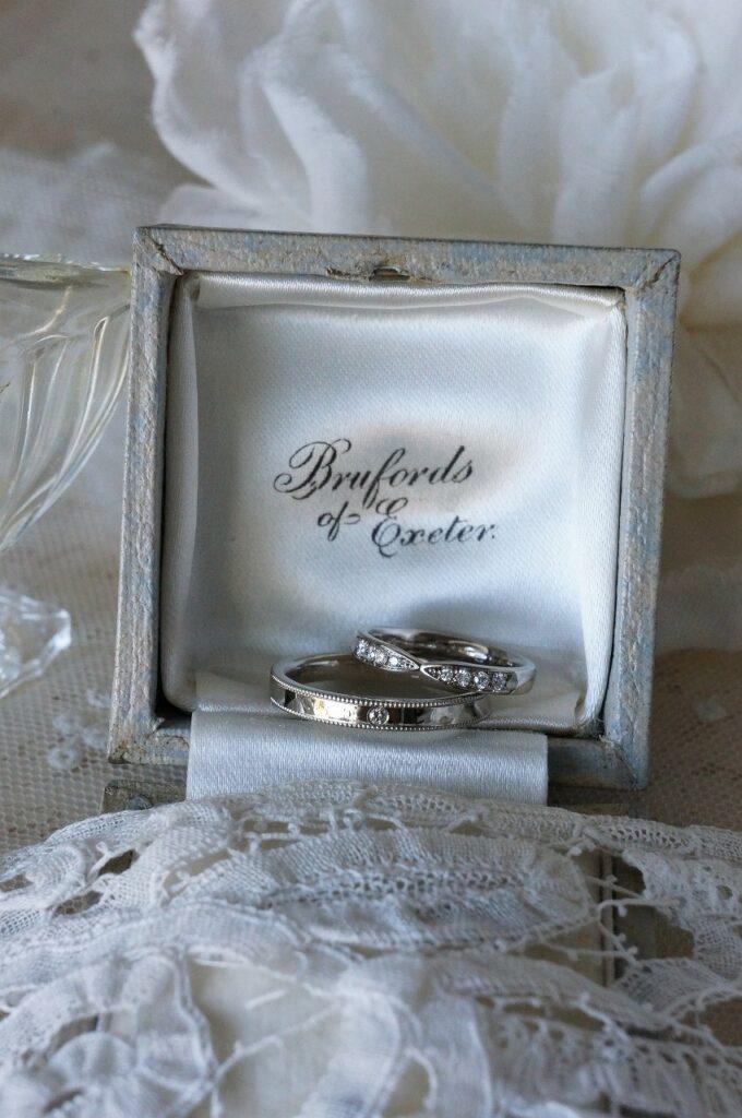 フォルムを揃えて♡ 結婚指輪