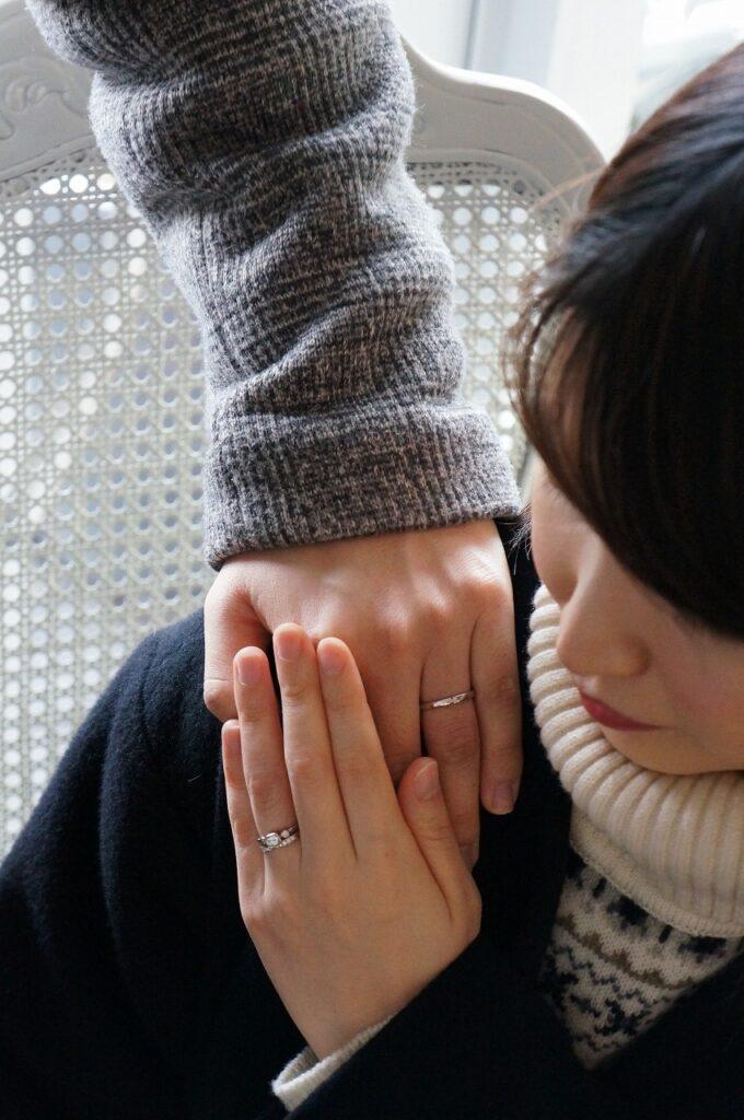 麗しの煌めきで  婚約指輪・結婚指輪