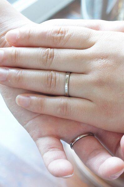 幸せのしるしを 結婚指輪