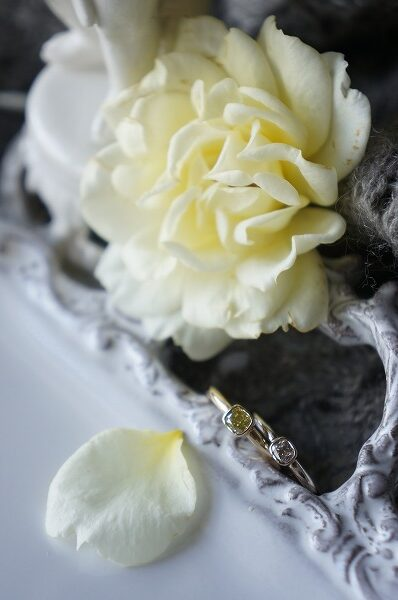 麗しい煌めきで 素敵な煌めきのダイアモンド