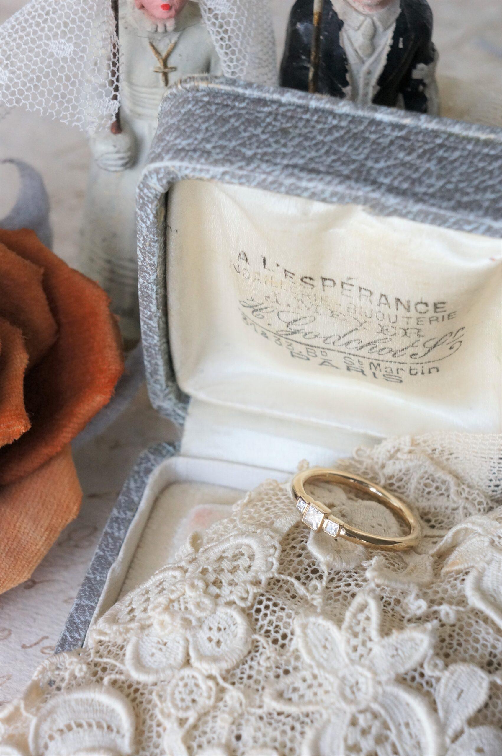 素敵なリングへと仕上がりました♪ 結婚指輪 婚約指輪 記念日の贈り物にも♡