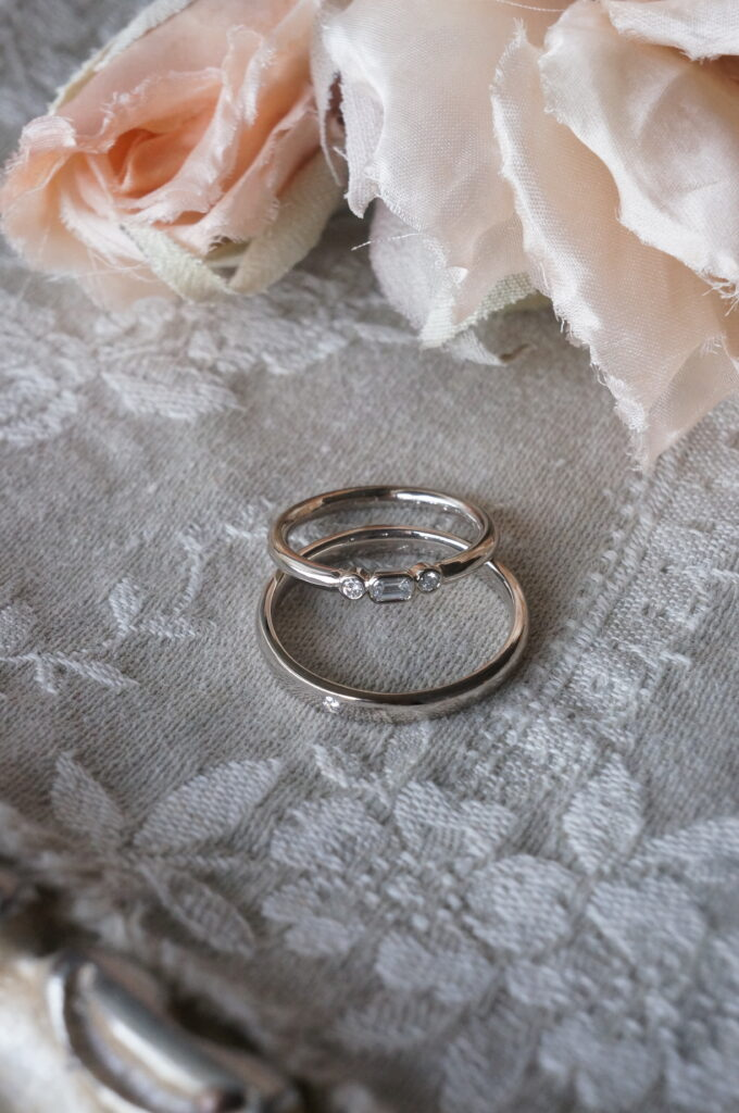 松江市H様、素敵なお二人の結婚指輪♪