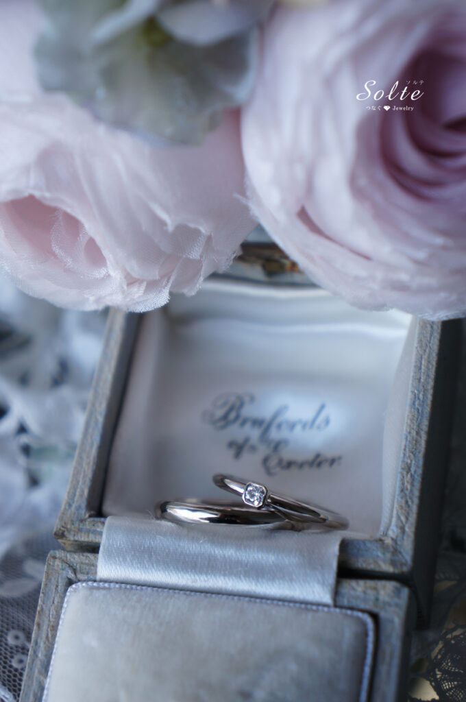 いつまでも・・・ 結婚指輪