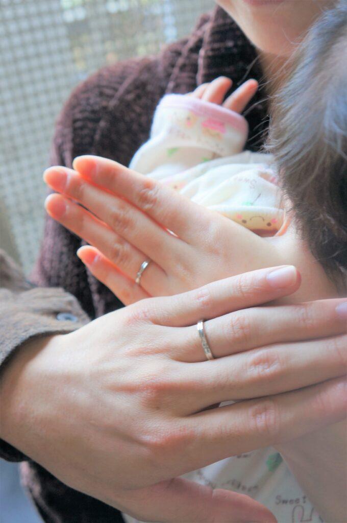 嬉しいご縁から  結婚指輪
