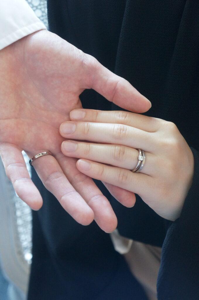素敵なサプライズ♡  婚約指輪・結婚指輪