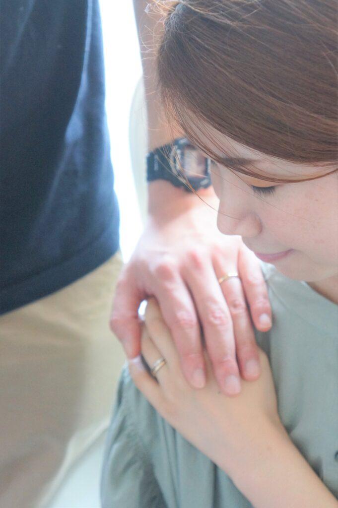 彼女のお気に入りを婚約指輪に♡ マリッジとの素敵な重ねづかい