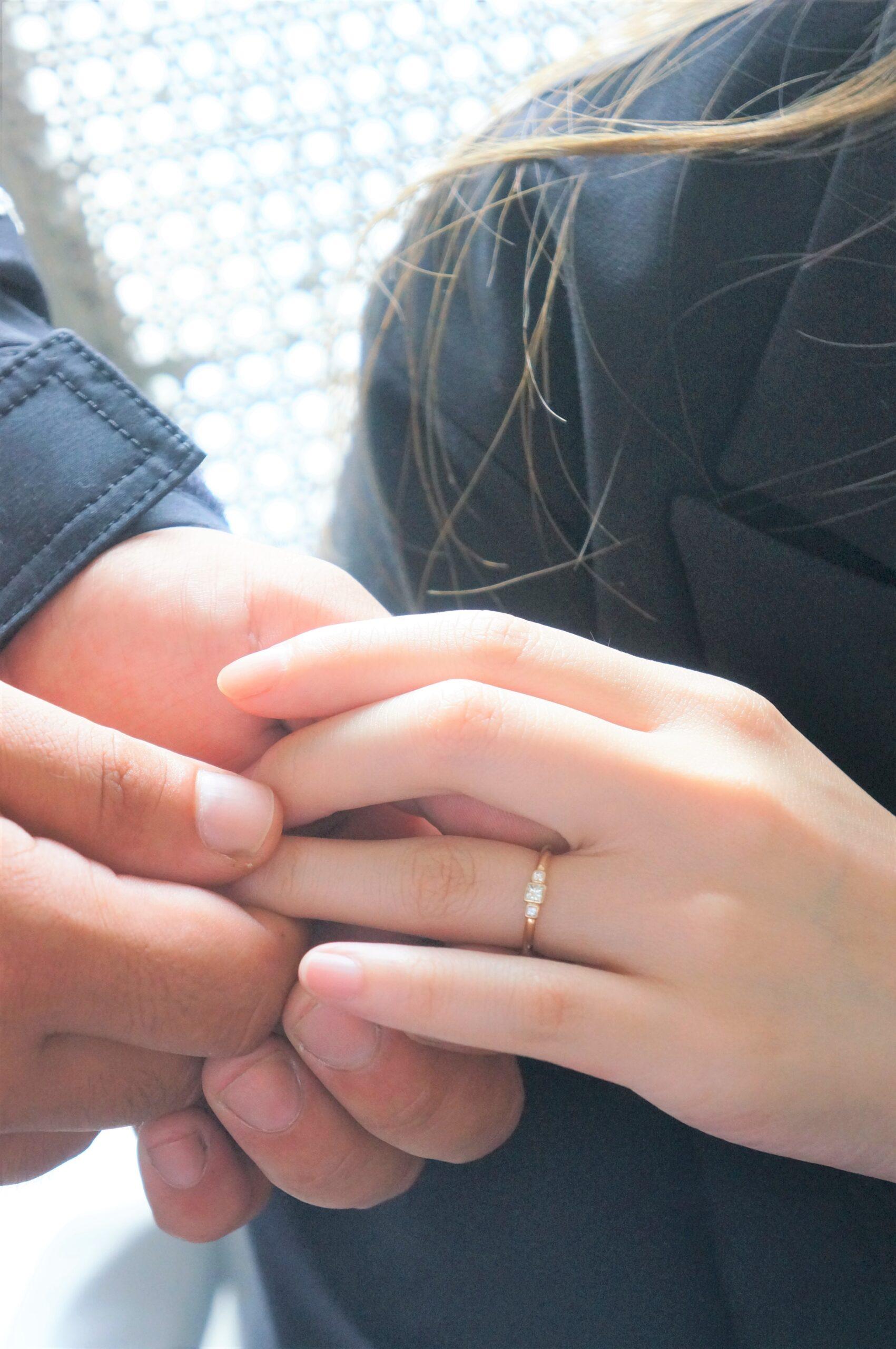 大切な奥様へ 結婚指輪